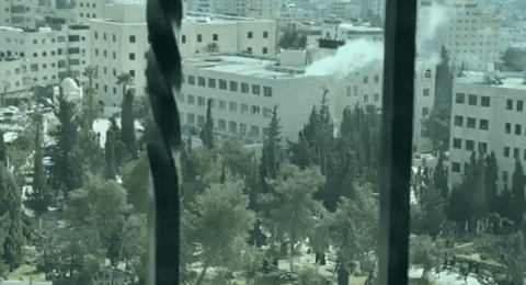 اكثر من 20 اصابة بانفجار التدفئة المركزية في جامعة الخليل