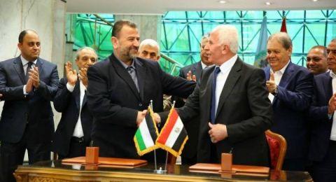 96.3% من الفلسطينيين يرون المصالحة الطريق الأقوى للتصدي لـ