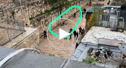 القدس: الشرطة الاسرائيلية تطلق النار تجاه مواطن بدعوى محاولة تنفيذه عملية والاعن عن استشهاده