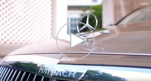 فخمة ومتطورة.. سيارة Maybach الجديدة من مرسيدس!
