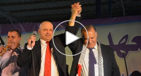 الناصرة تحتفل بفوز علي سلام، وإرسال