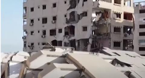 هدوء ودمار كبير في غزة بعد وقف اطلاق النار .. والمقاومة تعلن انتصارها