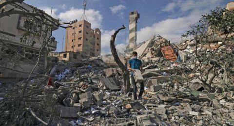 اليوم العاشر للحرب على غزة .. 10 شهداء وتدمير مزيد من البيوت