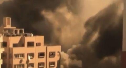 القصف الاسرائيلي مستمر على غزة