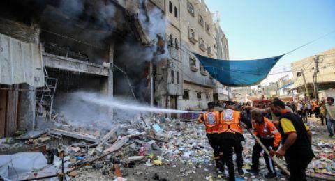 52 مقاتلة اسرائيلية نفذت 120 غارة على مواقع في قطاع غزة خلال 25 دقيقة