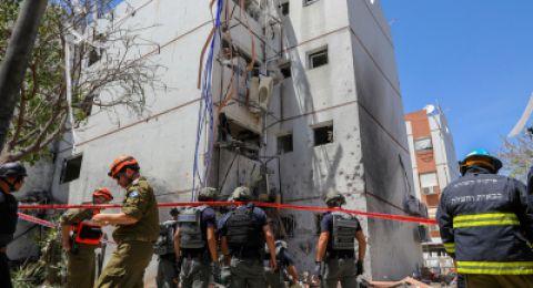 سقوط 7 قذائف صاروخية في المجلس الإقليمي اشكول
