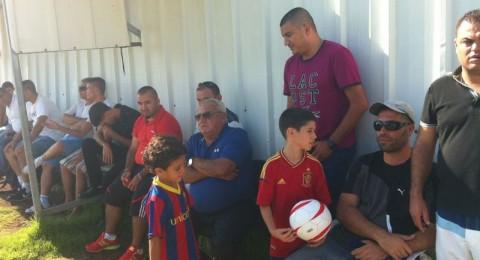 شلومي شيرف يزور مدرسة كرة القدم بنين وبوادر تعاون جديد
