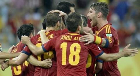 فوز مستحق للمنتخب الاسباني على اورغواي (2-1)