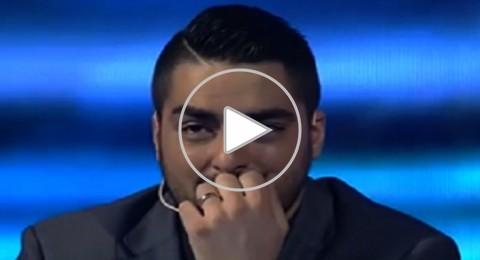 أحساس احمد جمال يبكي حسن الشافعي
