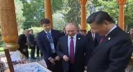 البوظة، هدية بوتين لنظيره الصيني في عيد ميلاده