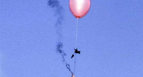 سلاح اسرائيلي جديد لمواجهة البالونات الحارقة