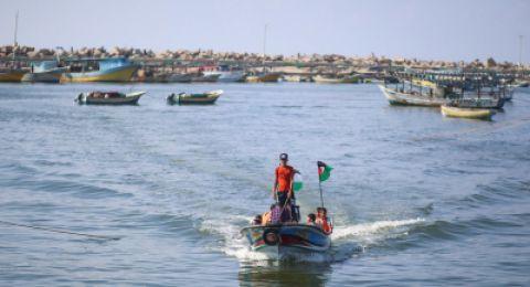 الجيش الإسرائيلي يفتح بحر غزة جزئيا أمام الصيادين الفلسطينيين