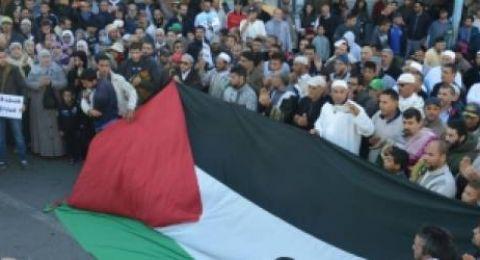 القوى المغربية تنظم مسيرة غدًا نصرةً لفلسطين ورفضا لـ