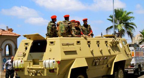 مصر:قتلى وجرحى في هجوم إرهابي قرب مطار العريش