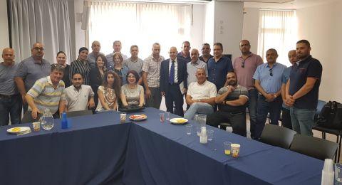 المدير العام لوزارة التّربية شموئيل ابواب يلتقي مديري المراكز الجماهيري في المجتمع العربي