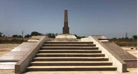 لماذا تم اهمال النصب التذكاري للجنود المصريين الاربعة الموجود في اسرائيل؟؟