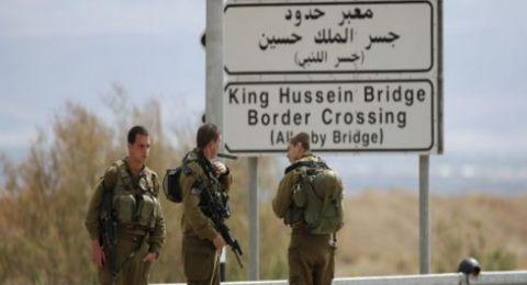 ثلاثة اشخاص يجتازون الحدود الاردنية ويدخلون اسرائيل