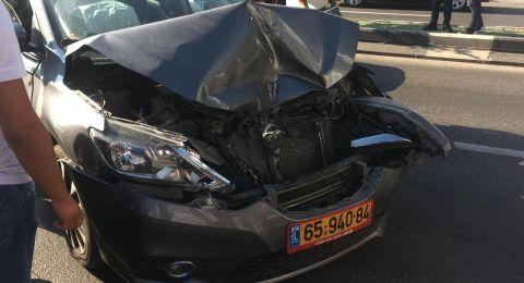 اصابتان في حادث طرق في سخنين