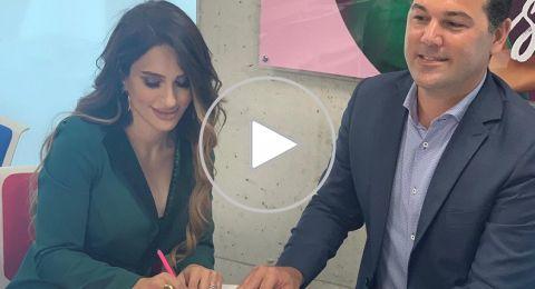 خبيرة التجميل هبة شحادة توقع عقدًا جديدًا مع فلورمار في تركيا