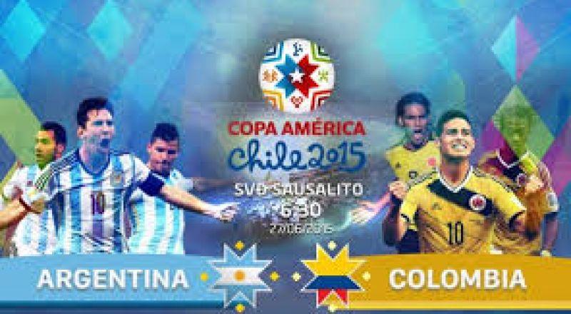 بدلاء كولومبيا يُسقطون الأرجنتين في