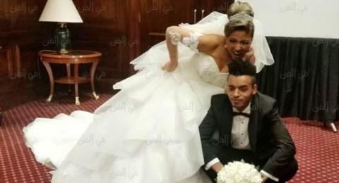 مي كساب ترتدي فستانين في حفل زفافها.. أيهما أجمل؟