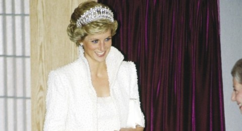 الأميرة ديانا تحضر حفل تعميد حفيدتها تشارلوت