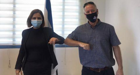 لضمان الجلبوع أكثر نظافة وصحة وأمنًا .. لقاء بين عوفيد نور ووزيرة حماية البيئة