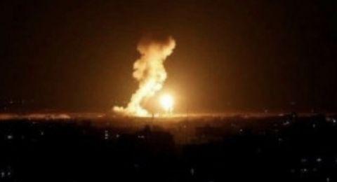 اسرائيل تقصف قطاع غزة والمقاومة ترد