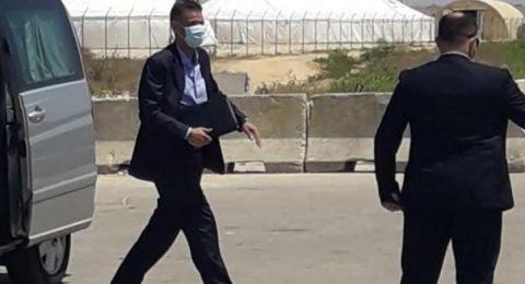 الوفد المصري ينقل مطالب حماس الى تل ابيب