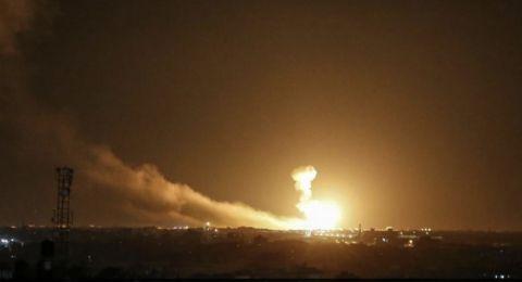 قصف عنيف على مواقع في غزة وإطلاق النار على الصيادين