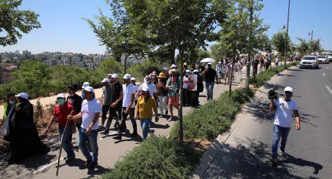 مسيرة الأمهات من أجل الحياة تختتم في القدس وتلتقي بريفلين