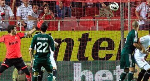 الهزيمة الثانية لريال مدريد امام اشبيلية(0-1)