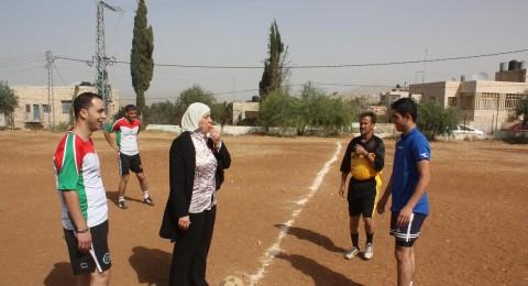 محافظة رام الله تطلق صافرة البداية لافتتاح دوي مناصرة الأسرى لكرة القدم في بلدة يبرود