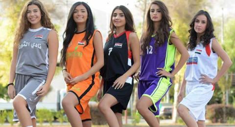 سوريا: حملة ترويجية غير اعتيادية لدوري كرة السلة للسيدات