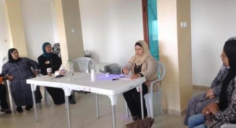 جمعية نساء عين ماهل تقيم محاضرة عن التغذية السليمة