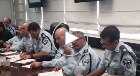 مباراة سخنين وبيتار القدس، الشرطة تجتمع وتستعد .. ألف شرطي وعنصر أمن
