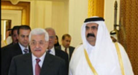 امير قطر في رام الله يوم 31 من الشهر الجاري