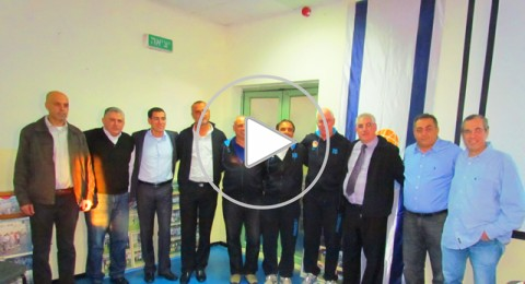 إتحاد كرة السلة الإسرائيلي ضيوف في يافة الناصرة
