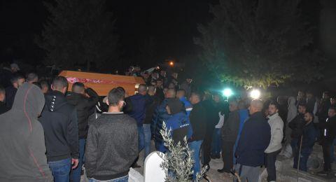 المئات يشيعون جثمان ابو دياك في عين ماهل