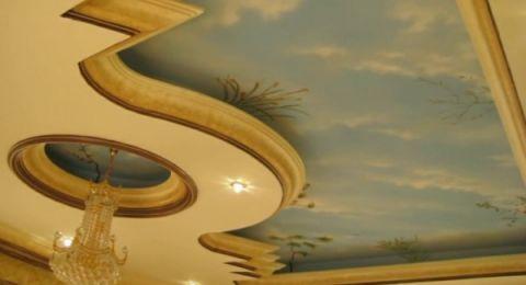 صور ديكورات جبس اسقف راقيه