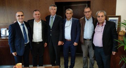سفير وقنصل اسبانيا يزورا شخصيات ومؤسسات عدة في شمال البلاد