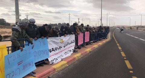 أهل النقب يتظاهرون ضد هدم البيوت صباحًا .. وإسرائيل تهدم العراقيب ظُهرًا