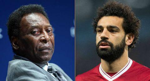 بيليه يشيد بصلاح ويكشف فرص منتخب مصر في الفوز بكأس العالم