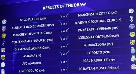 إليكم نتائج قرعة دوري أبطال أوروبا وقرعة الدوري الأوروبي