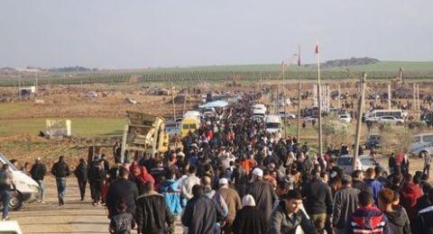 4 إصابات في مسيرة العودة الـ39 على حدود غزة