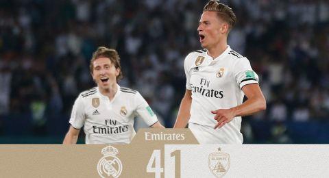 ريال مدريد يتوج بلقب كأس العالم للأندية للمرة الثالثة على التوالي