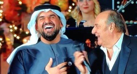 حسين الجسمي يغنّي المحبة والسلام في الفاتيكان.. تحية بالإيطالية وكلمة بالانكليزية