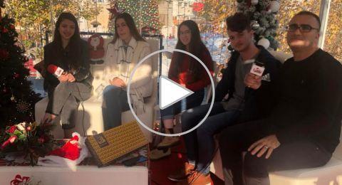 ستوديو كريسماس بكرا: البعثات المشتركة في غفعات حبيبه .. مشروع أمل
