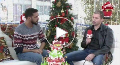 ستوديو كريسمس بكرا: كعك الميلاد مع صانع الحلويات شادي طنوس