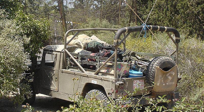 الجيش يكشف: اصابة جندي في انقلاب مركبة عسكرية